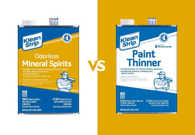Mineral Spirits vs Paint Thinners: 5 Key Differences | Bob Vila
