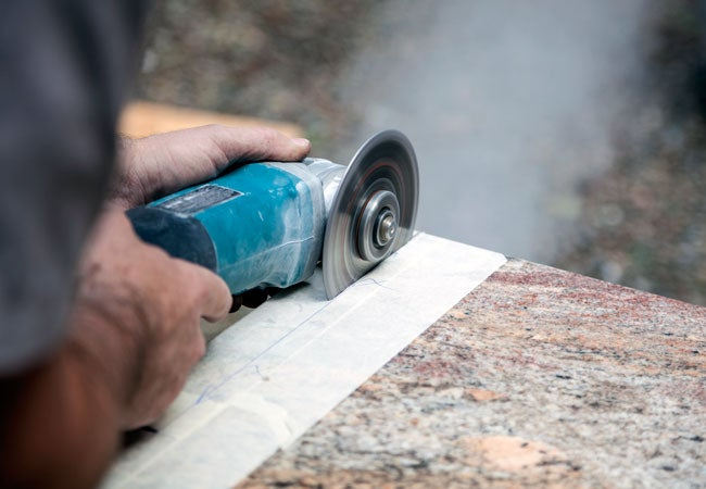 How To Cut Granite Slab And Tiles Bob Vila