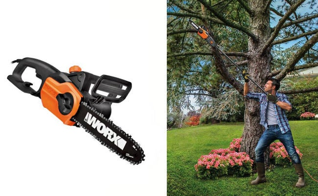 3 Picks for Best Pole Saw - Worx 10-Inch 8 Amp Electric