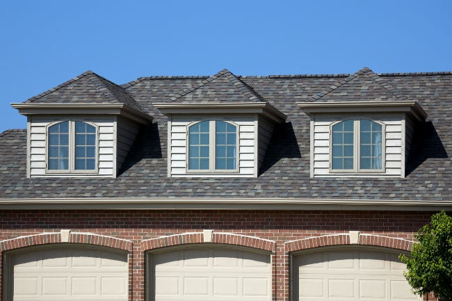 Styles of Dormer Windows - The Hip Dormer