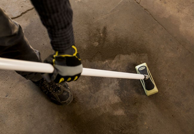 Painting concrete floors follow these 3 key steps bob vila for Scrubbing concrete floors