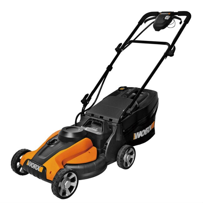 "Best Electric Lawn Mower - WORX 14"" Cordless Push Mower"