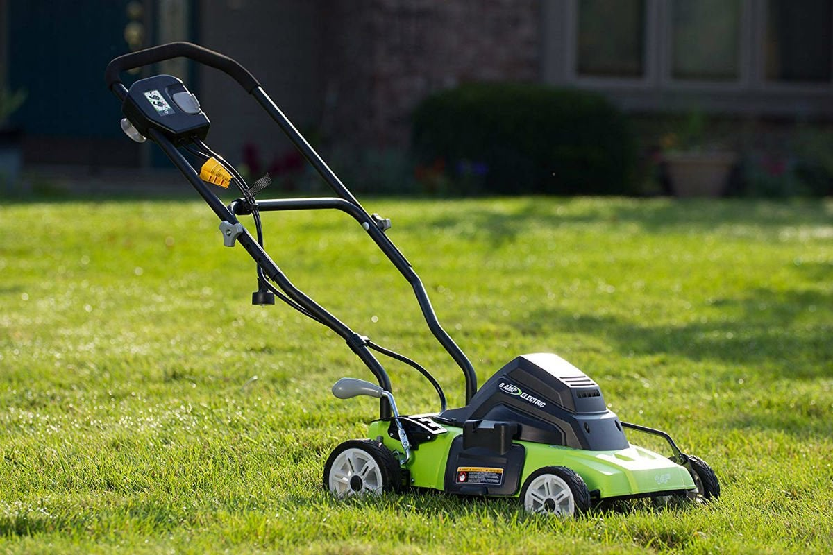 Best Budget Electric Mower: Earthwise 14-Inch Corded Mower