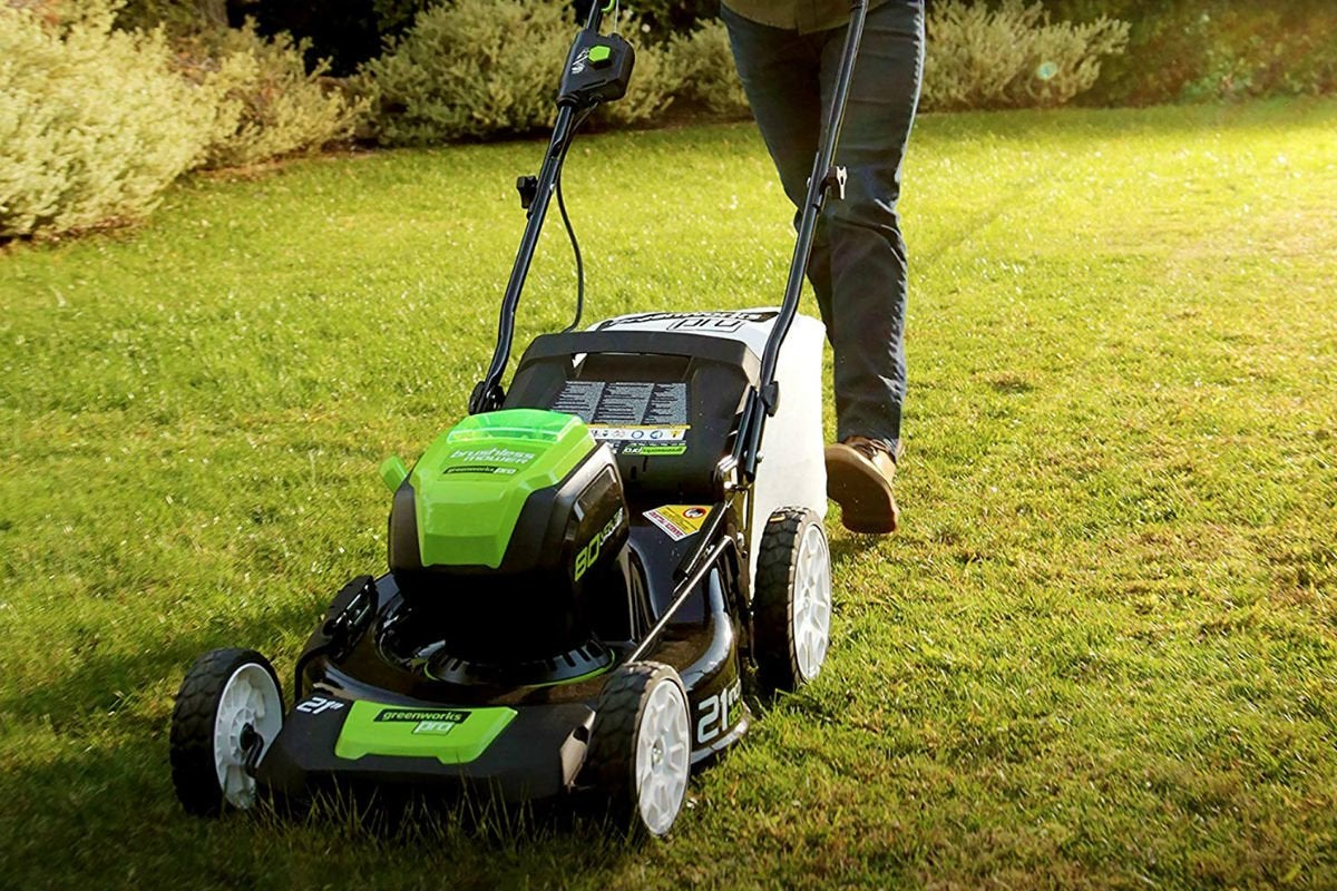 Overall Best Cordless Mower: Greenworks 21-inch Cordless Mower