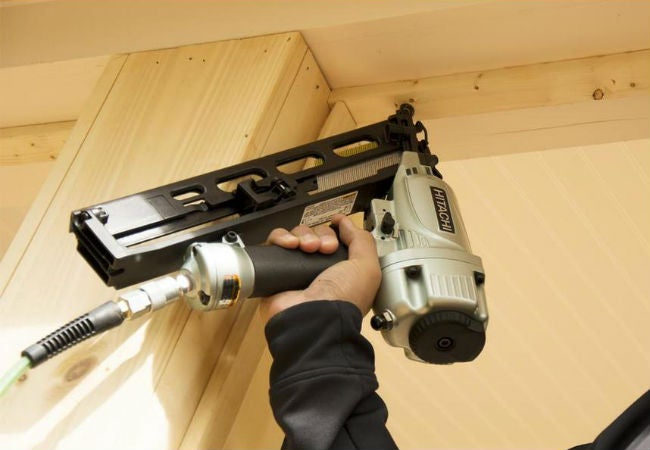 Best Nail Gun for Finishing Nails: Hitachi