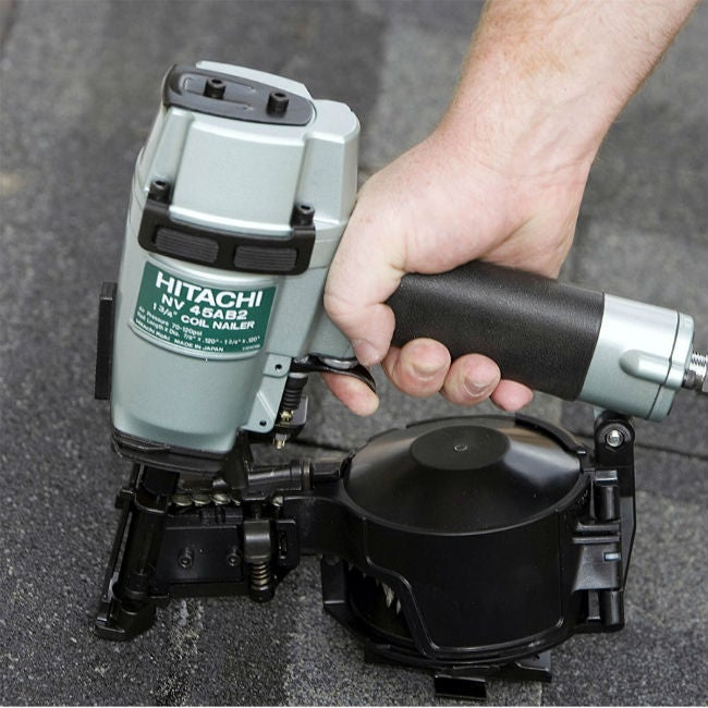 Best Nail Gun for Roofing: Hitachi