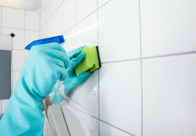 How To Remove Grout Haze Bob Vila - Best way to clean grout off new tiles
