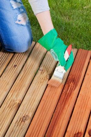 painting vs staining a deck 7 big differences bob vila. Black Bedroom Furniture Sets. Home Design Ideas