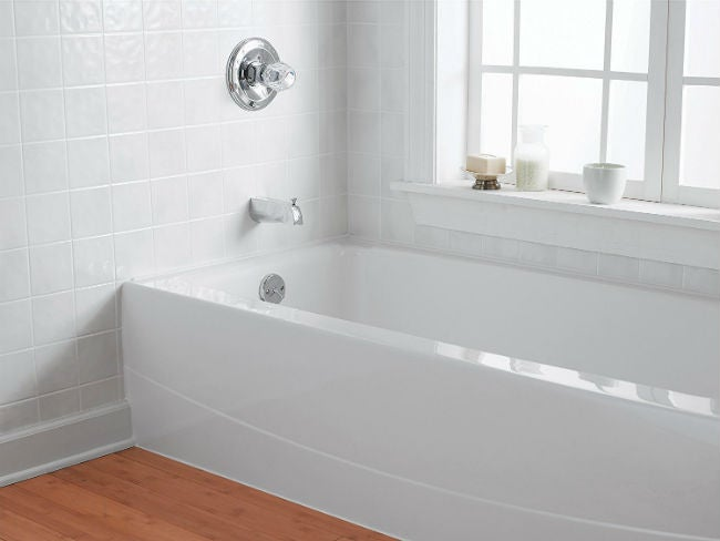 Painting Bathroom Tile? 6 Things to Know First | Bob Vila on marble tiles for bathrooms, painting for bathrooms, lowe's creative ideas for bathrooms, flooring for bathrooms, tile painting kit home depot, tiling ideas for bathrooms, 4x4 tiles for bathrooms, wall paint for bathrooms, good colors for bathrooms, bathroom tiles for bathrooms, diy for bathrooms, plumbing codes for bathrooms, interior paint for bathrooms, paint ideas for bathrooms, paint colors for bathrooms, green board for bathrooms, white for bathrooms, shades of green for bathrooms, epoxy paint for bathrooms, drywall for bathrooms,
