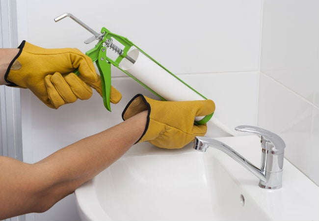 DIY Plumbing Repair: Caulking a Sink