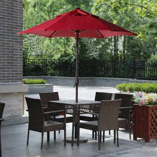 Charmant Best Patio Umbrella Options For Your Outdoor Space