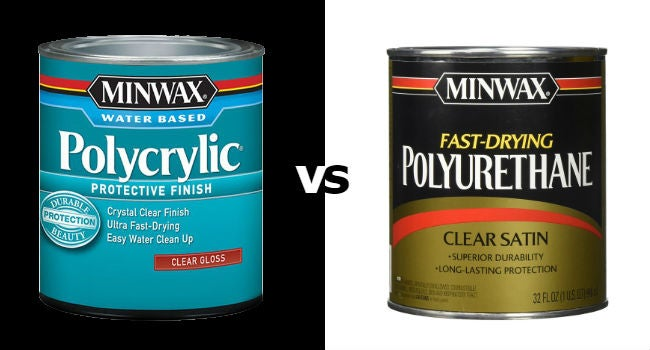 Polycrylic Vs Polyurethane Which To