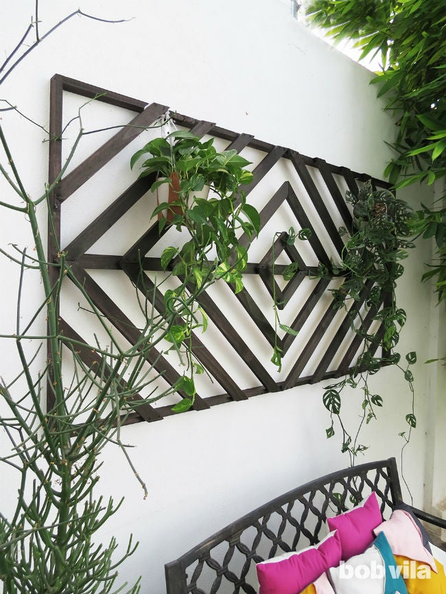 How to Make a Wall Trellis