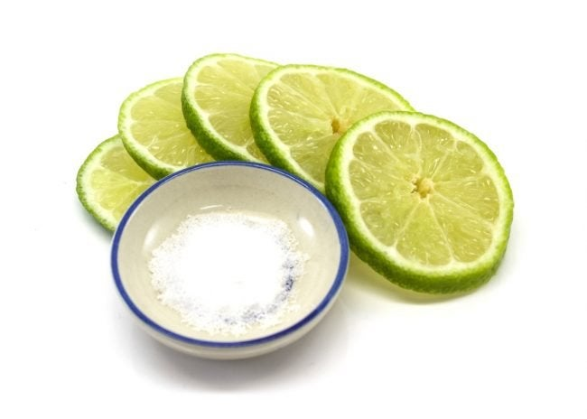 Use Limes and Salt as a Homemade Rust Remover