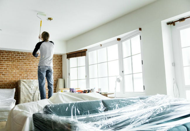 The best paint for ceilings how to get a drip free finish - How to furnish a small bedroom ...