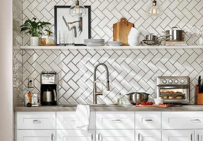 10 Subway Tile Patterns to Choose From | Herringbone
