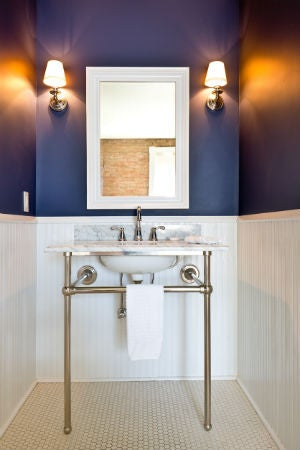 Best Bathroom Lighting, Solved! | Bob Vila on small bath fixtures, small bathroom vents, small chandelier lighting fixtures, small bathroom designs, ikea bathroom fixtures, small bathroom windows, small bathroom wiring, small bathroom kitchen, small bathroom storage, small spotlight fixtures, small bathroom remodeling, small bathroom granite, small bathroom ceilings, small bathroom baseboard, small bathroom blinds, small bathroom glass, small wall sconces fixtures, small bathroom ideas, small bathroom lighting, small bathroom bathrooms,