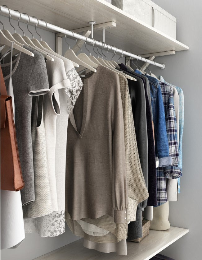 The Best Closet Systems For Clothing Organization