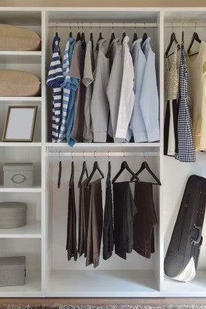 Exceptionnel The Best Closet Systems For Clothing Organization