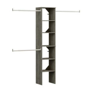 The Best Closet System Option: ClosetMaid Style Floor Mount 6-Shelf Closet Kit