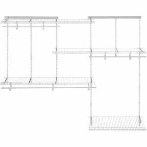 The Best Closet Systems Option: ClosetMaid 22875 ShelfTrack Adjustable Closet