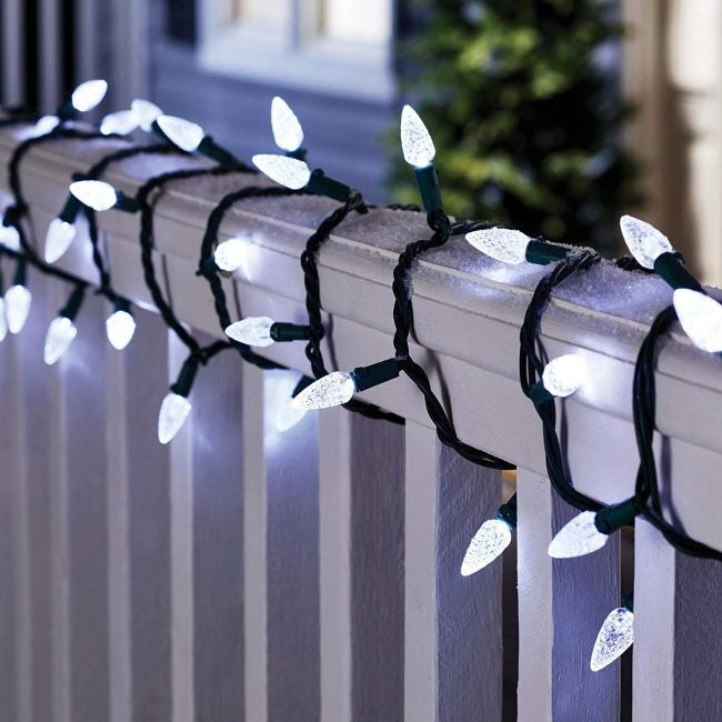 The 5 Best Christmas Lights (and Exactly How Many You Need ... Rail Fence Christmas Lighting Ideas on fence with outdoor christmas lights, fence split rail christmas decorating, fence post christmas ideas, fence painting ideas,
