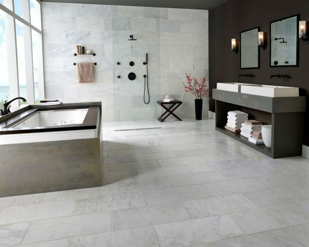 What to Know Before You Install Marble Flooring in the Bathroom