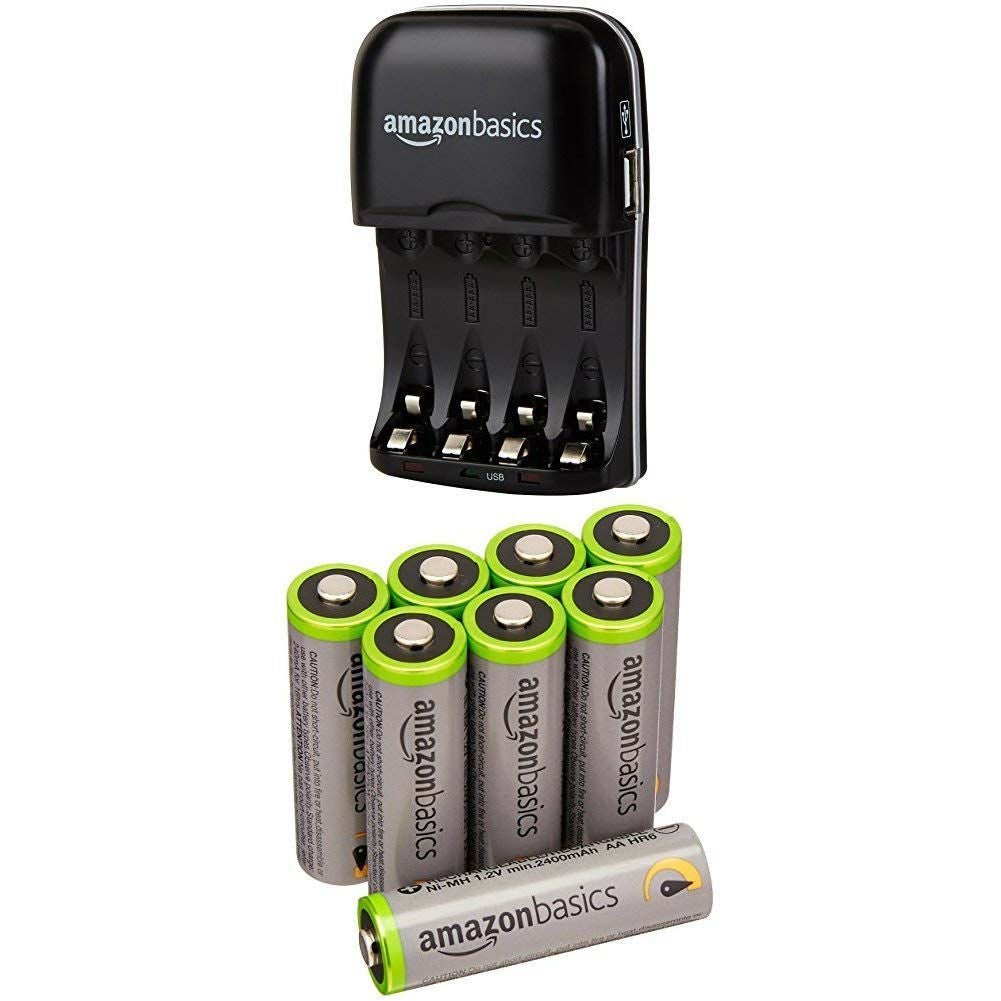The Best Rechargeable Batteries: Amazon Basics
