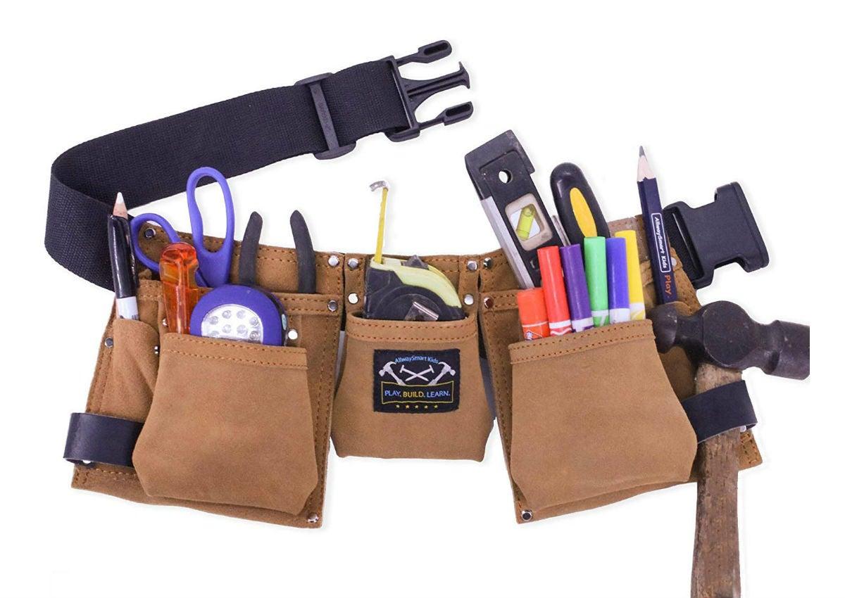 Choosing the Best Tool Belt: AllwaysSmart Kids' Leather Tool Belt