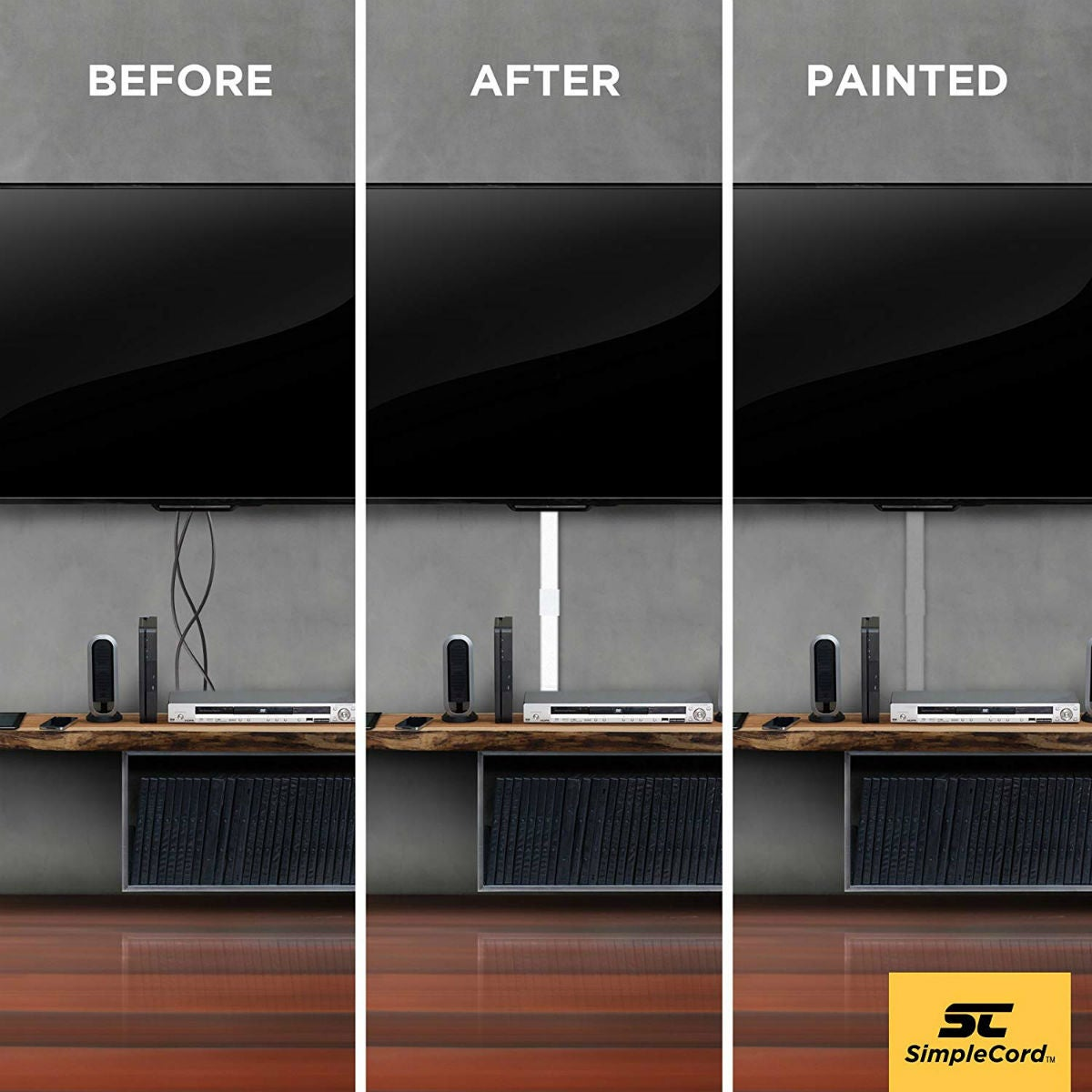 How to Hide TV Wires (and All of the Other Cords in Your House)