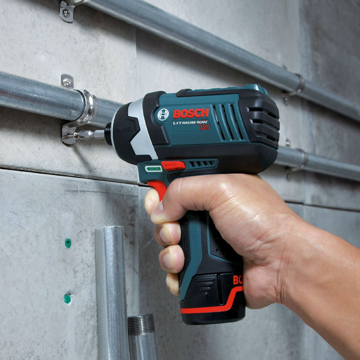 Best Impact Driver Options: Bosch 12-Volt Impact Driver