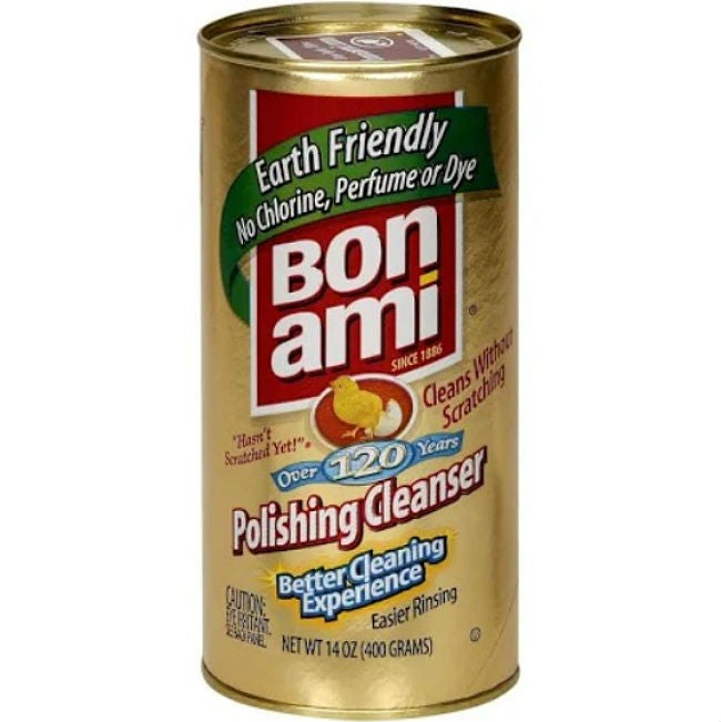 Best Natural Cleaning Products: Bon Ami Polishing Cleaner