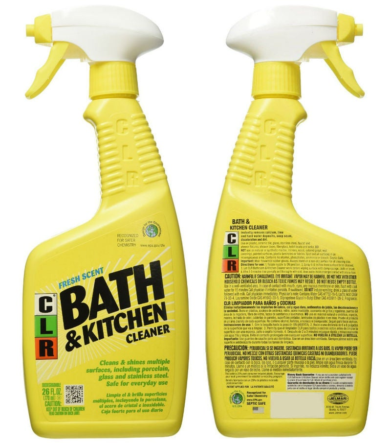 Best Natural Cleaning Products: CLR's Bath and Kitchen Cleaner