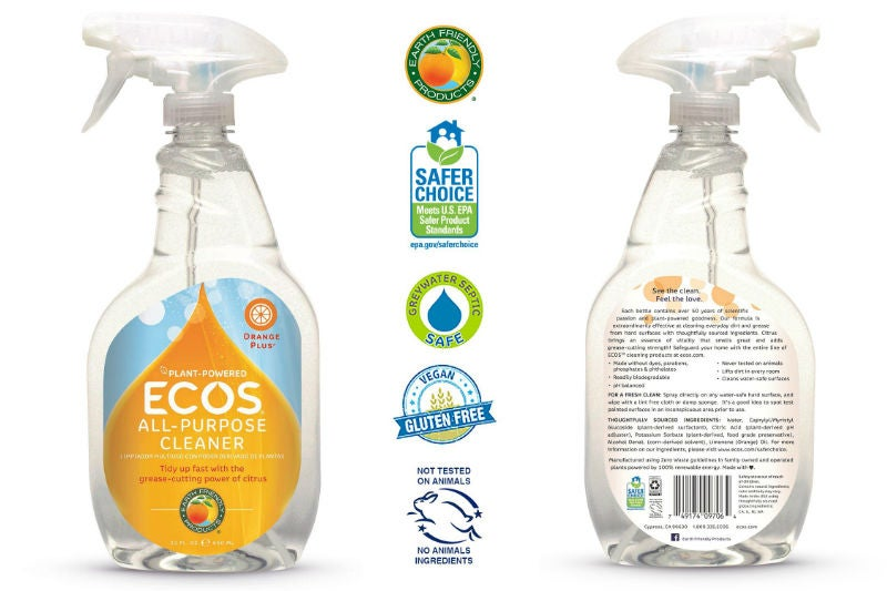 Best Natural Cleaning Products: Earth-Friendly Products' All-Purpose Spray