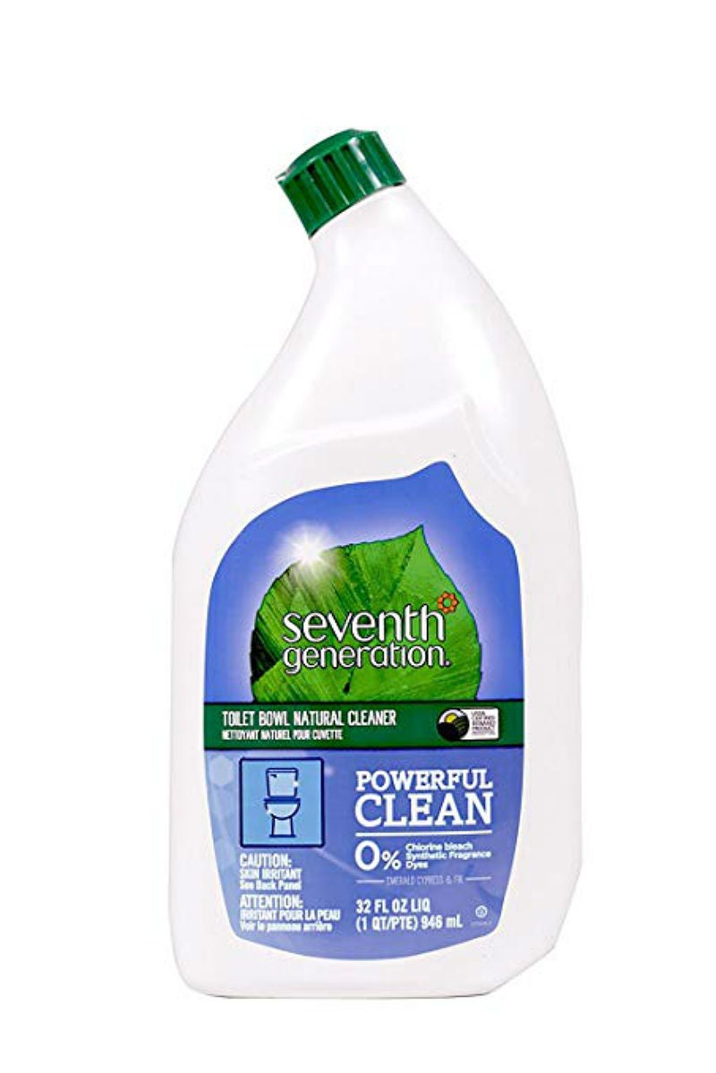 Best Natural Cleaning Products: Seventh Generation's Toilet Bowl Cleaner