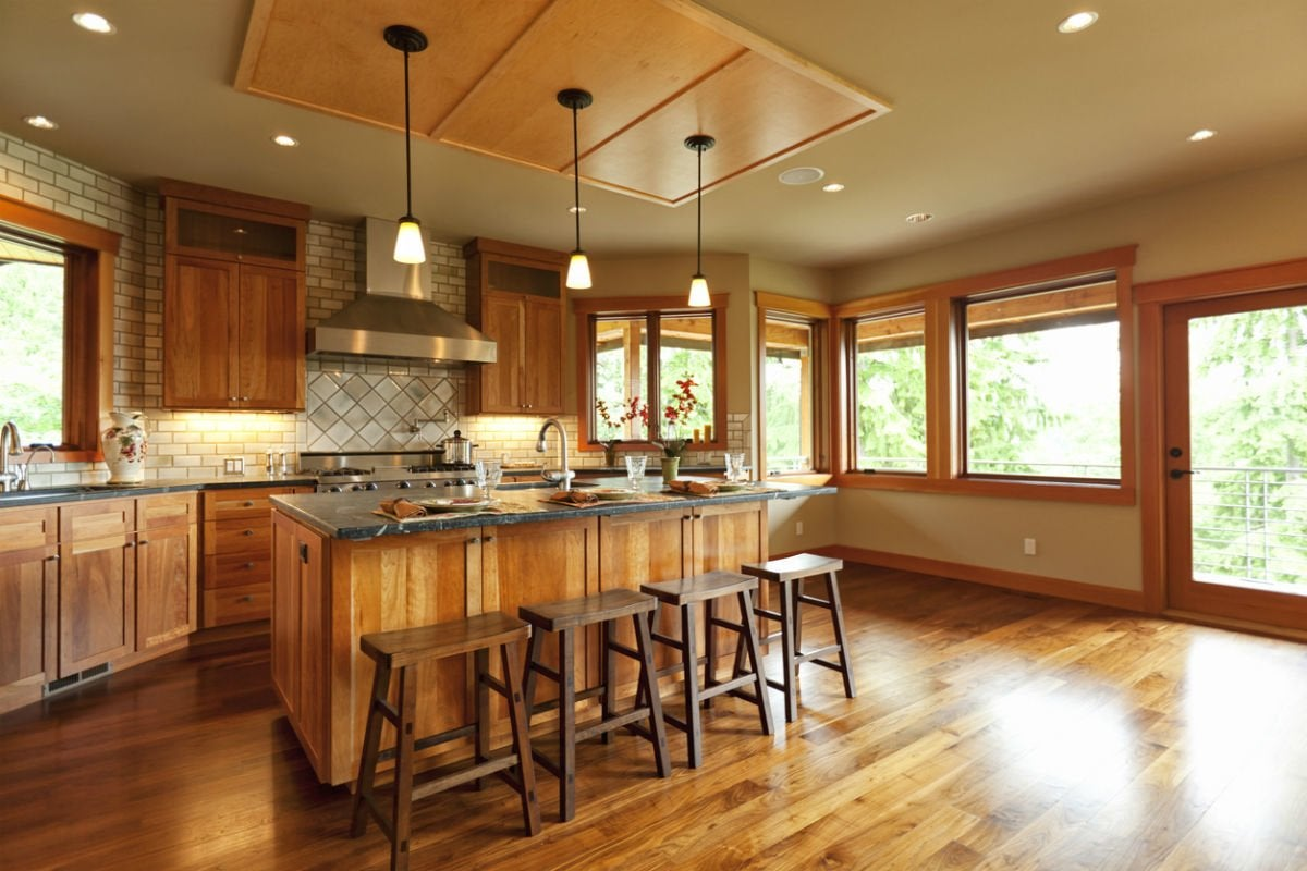 7 Tips For Wood Flooring In A Kitchen