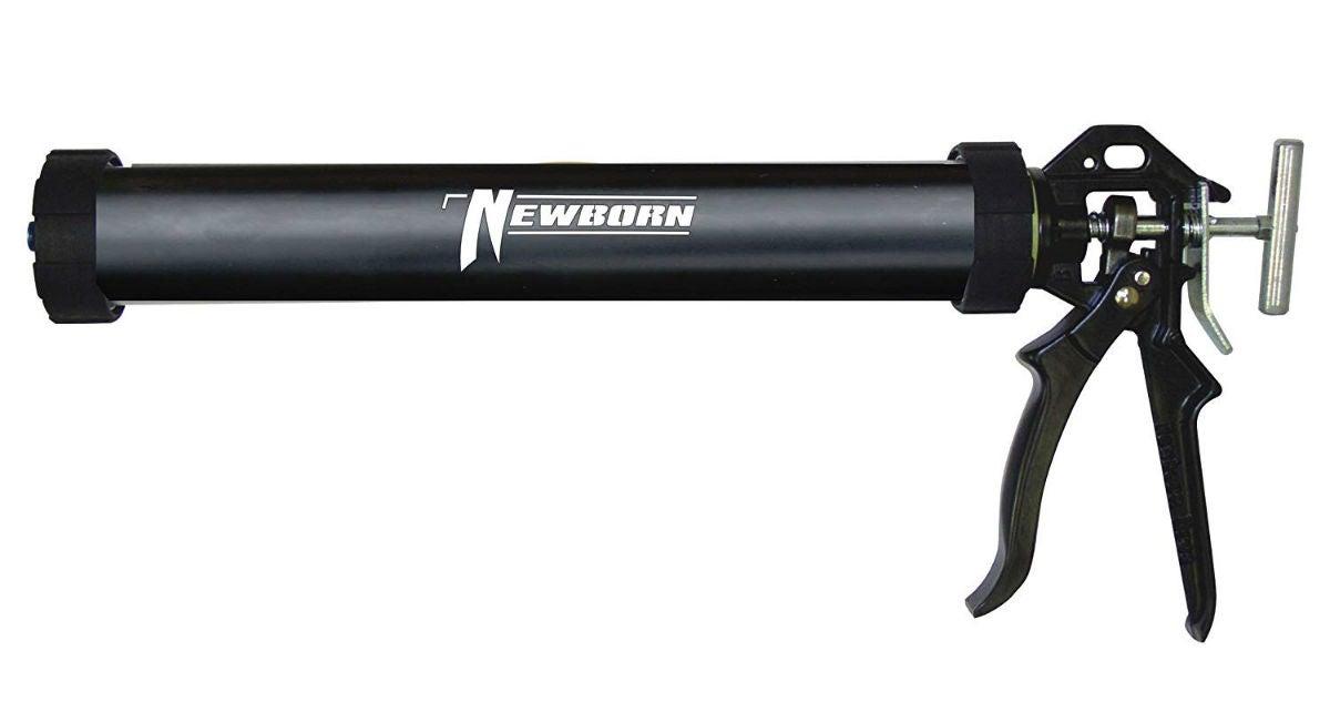 Best Caulking Gun: Newborn Round Rod Sausage Gun