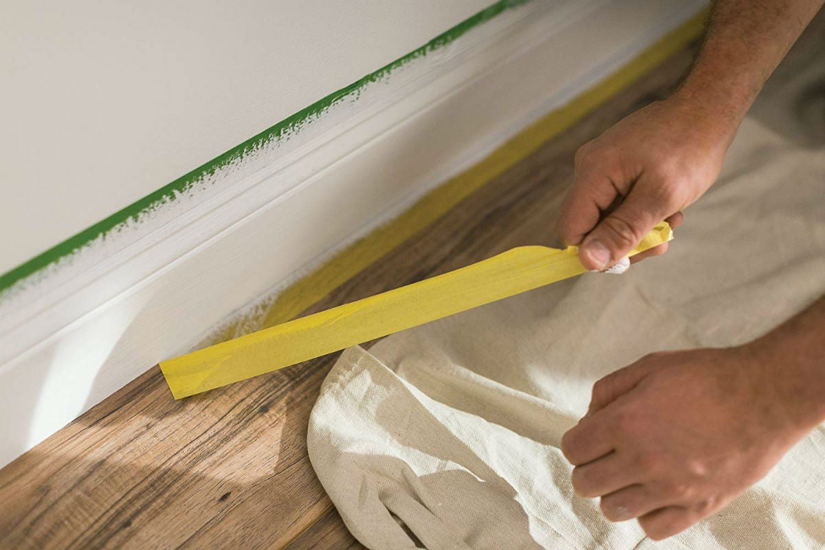 The Best Painter's Tape: Frogtape for Delicate Surfaces