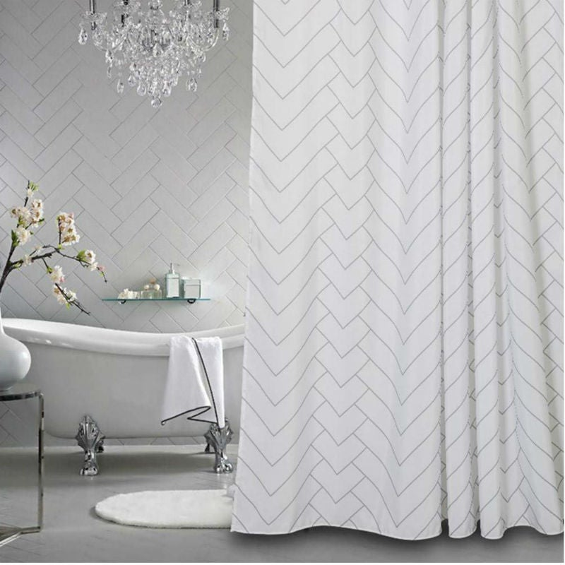 The Best Shower Curtains: Aimjerry