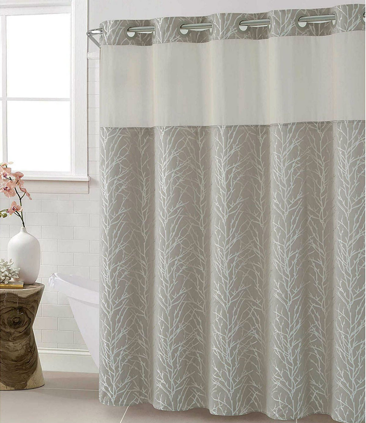The Best Shower Curtains: Hookless