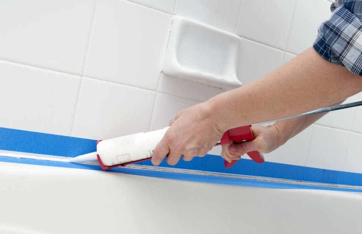 How Long Does Caulking Take To Dry In A Bathroom how long does caulk take to dry? solved! | bob vila