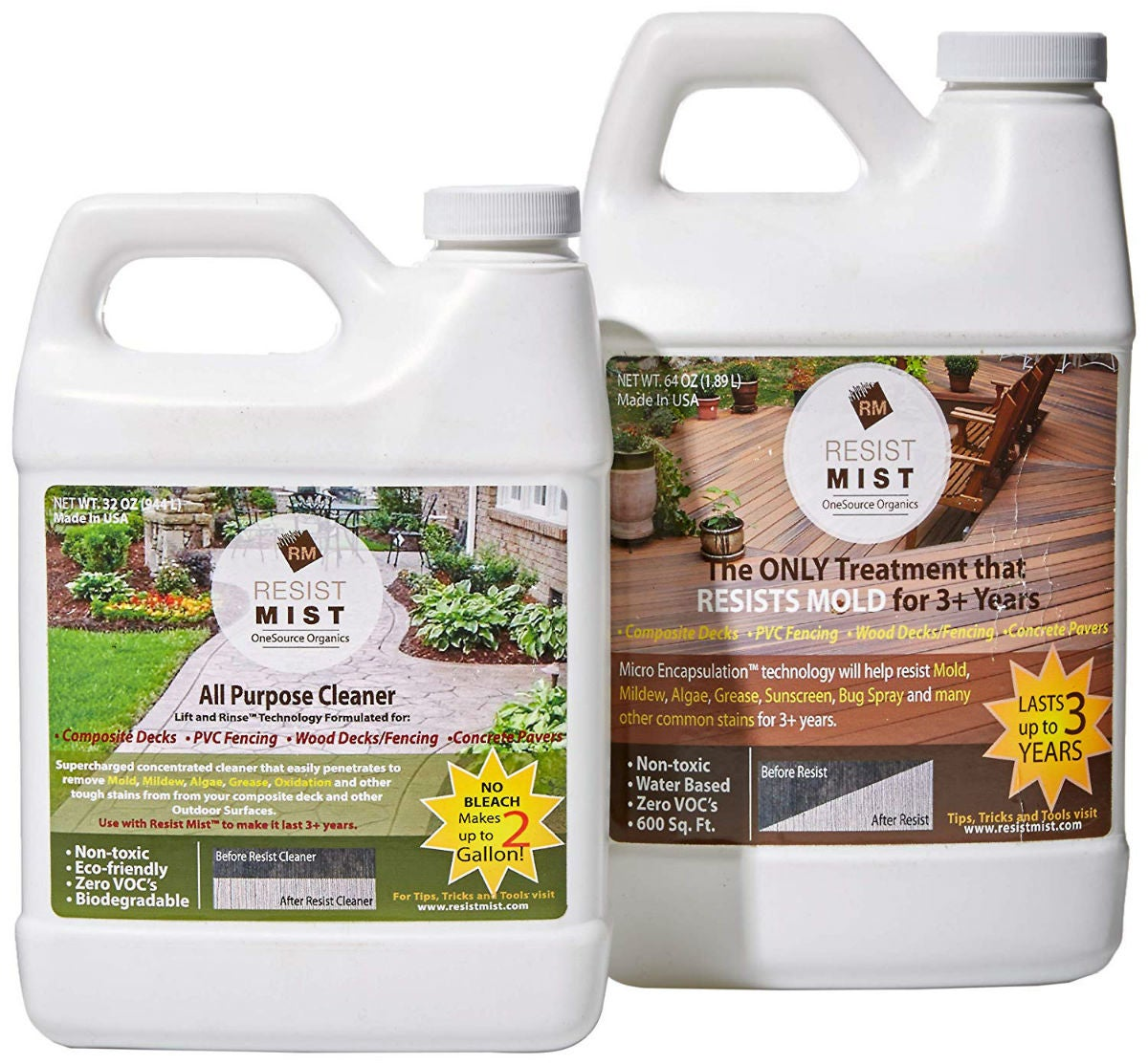 The Best Deck Cleaner for Composite Decking: Resist