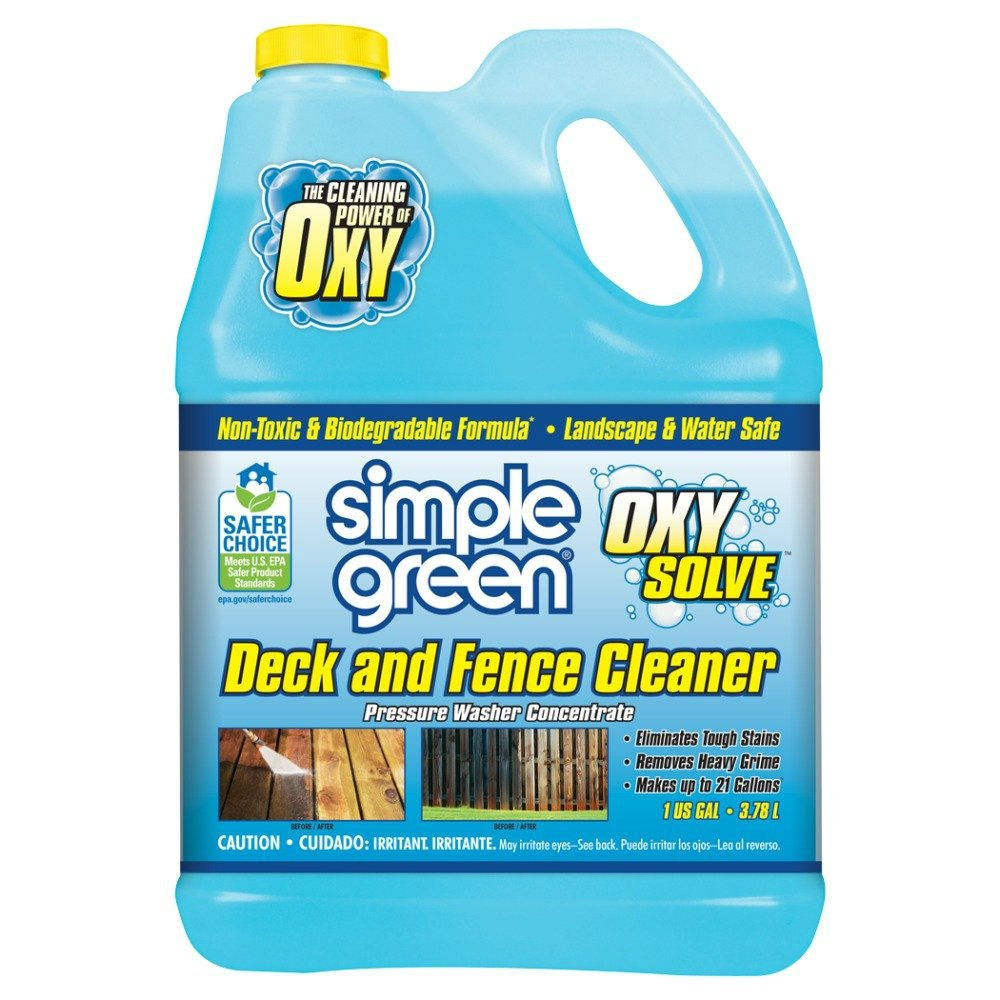 The Best Deck Cleaner for Power Washers: Simple Green
