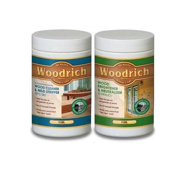 The Best Deck Cleaner for Wood Decks: Woodrich