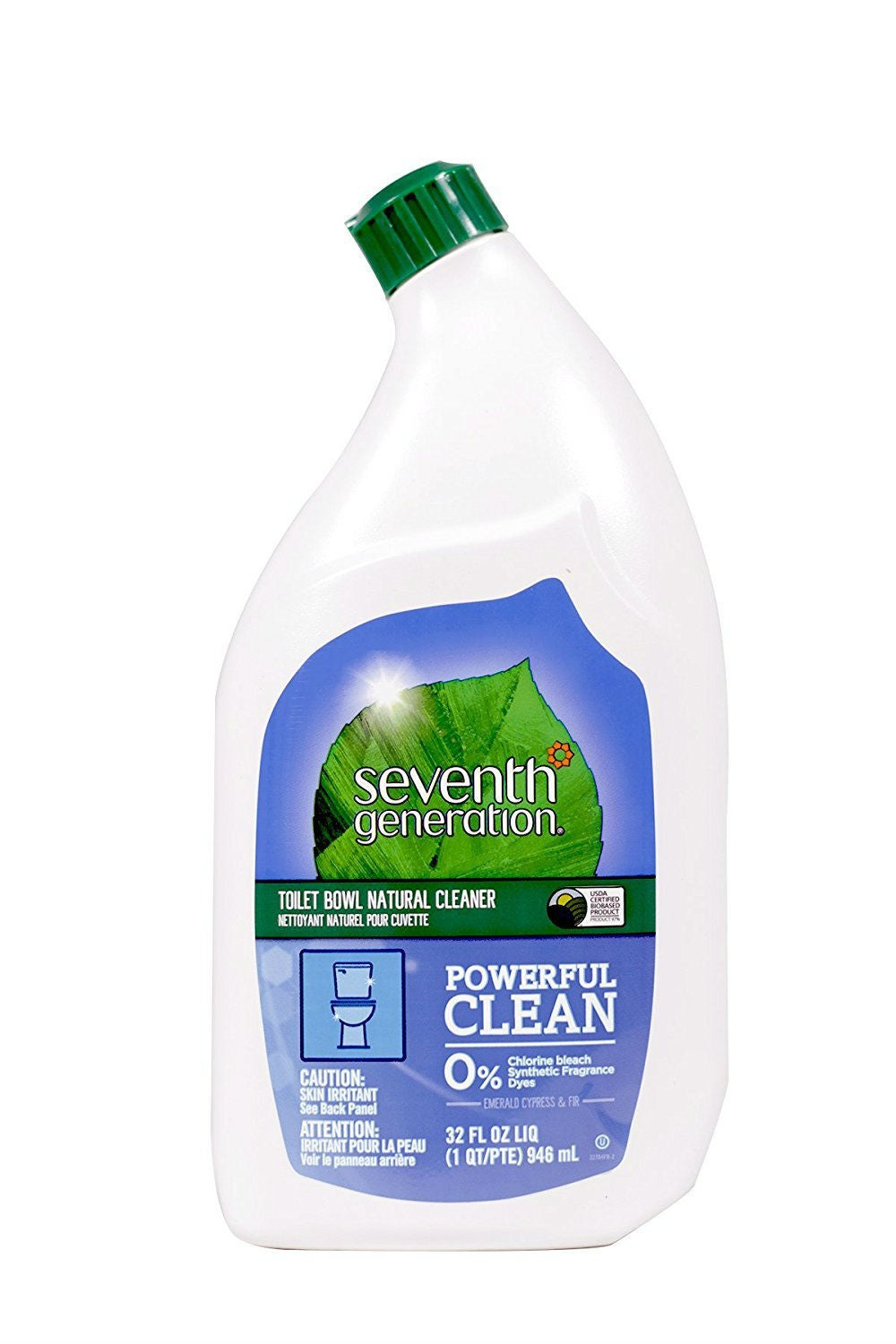 The Best Toilet Bowl Cleaner: Seventh Generation