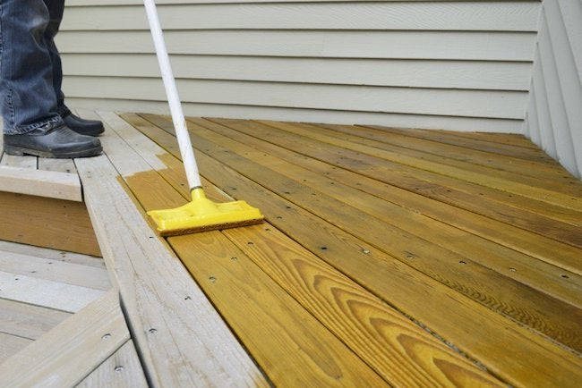 Applying the Best Deck Stain