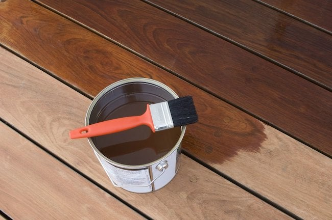 The Best Deck Stain According To
