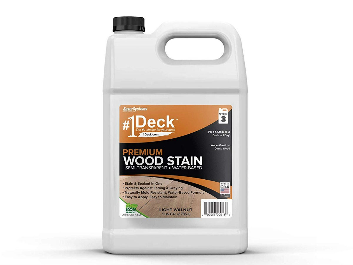 Best Deck Stain for Old Decks: SaverSystems