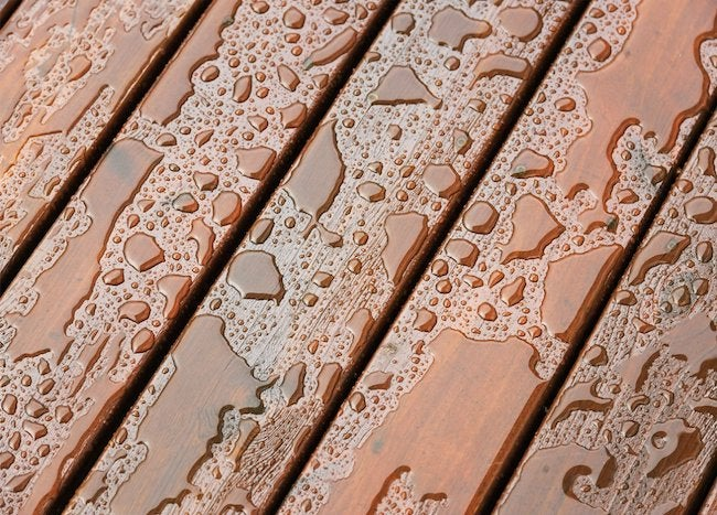 Best Deck Stain for Moisture Protection