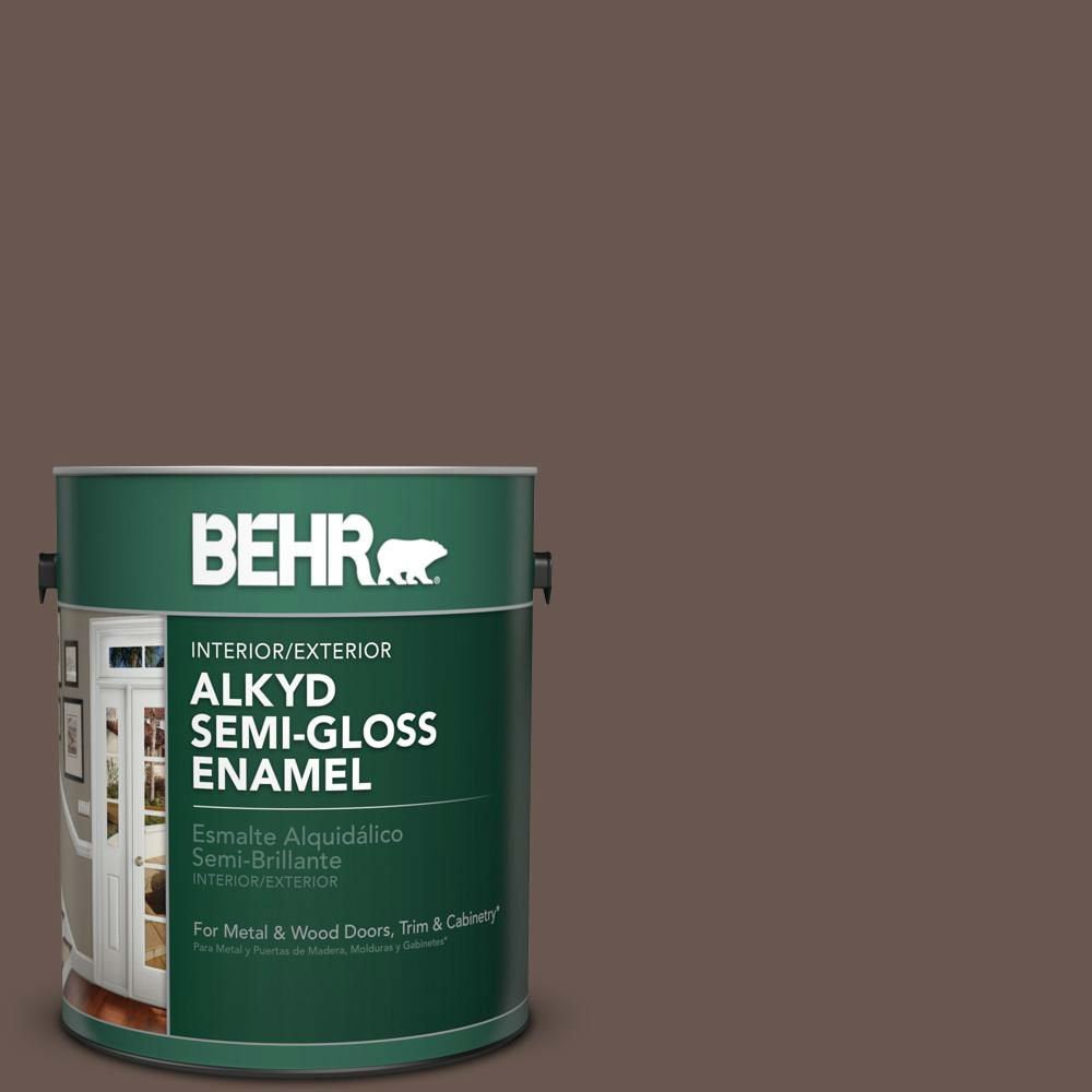 The Best Exterior Paint for Covering Oil-Based Paint: Behr Alkyd Semi-Gloss Enamel